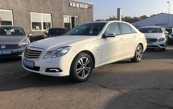 Mercedes E200 200  CGI BlueEfficiency  Aut. 1,8