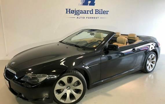 BMW 630i Cabriolet Steptr. 3,0