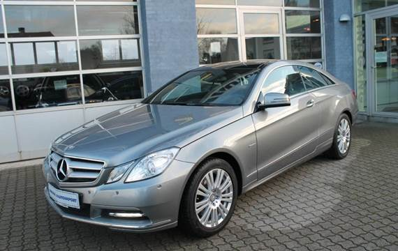 Mercedes E350 Avantgarde Coupé aut. BE 3,5