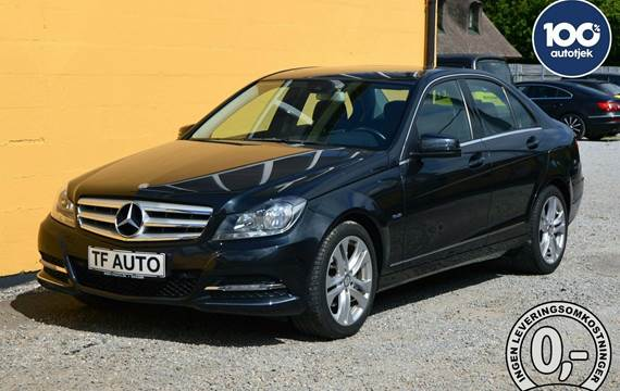 Mercedes C200 Avantgarde aut. BE 1,8