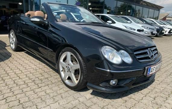 Mercedes CLK350 Cabriolet Avantgarde aut. 3,5