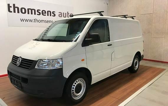 VW Transporter TDi 104 Kassevogn kort 1,9
