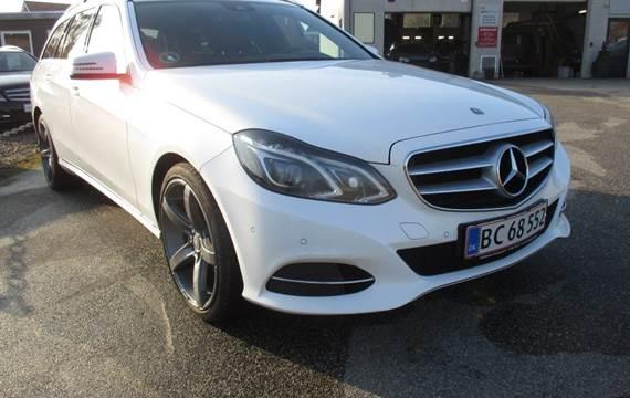 Mercedes E220 CDi Avantgarde stc. aut. BE 2,2