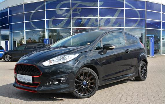Ford Fiesta EcoBoost Black Edition Start/Stop  3d 1,0