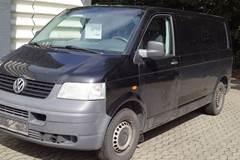 VW Transporter TDi 104 Kassevogn lang 1,9