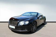 Bentley Continental GT W12 Convertible Speed aut. 6,0