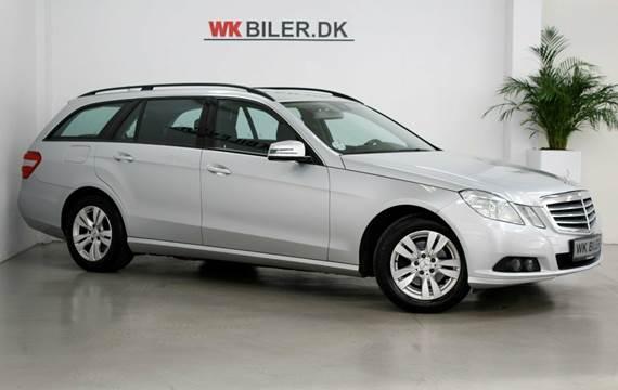 Mercedes E220 CDi stc. aut. BE 2,2