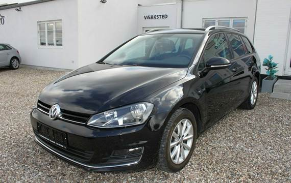 VW Golf VII TDi 110 Lounge Variant DSG 1,6