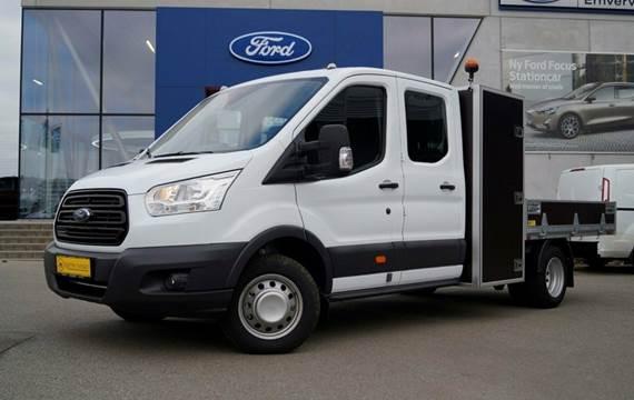 Ford Transit 350 L3 Chassis TDCi 170 Db.Cab Ambiente RWD 2,0