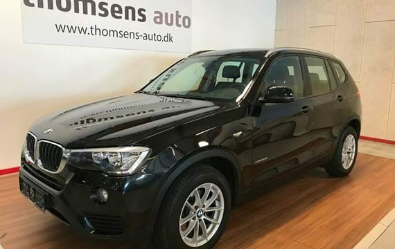 BMW X3 xDrive20d aut. 2,0