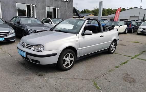 VW Golf Trendline  Cabr. 1,6