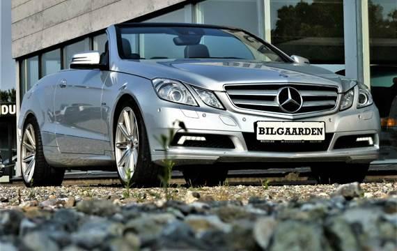 Mercedes E350 CGi Cabriolet aut. BE 3,5