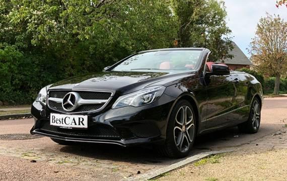 Mercedes E300 Cabriolet aut. 3,5