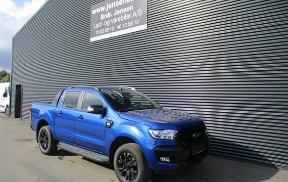 Ford Ranger 3,2 3200kg  TDCi Wildtrak MANDSKABSBIL 4x4  DobKab