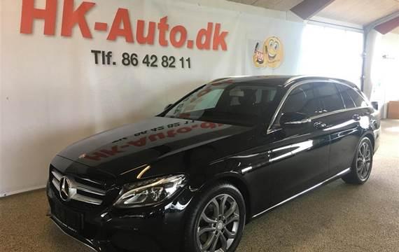 Mercedes C200 200 T  D 7G-Tronic Plus  Stc 7g Aut. 1,6