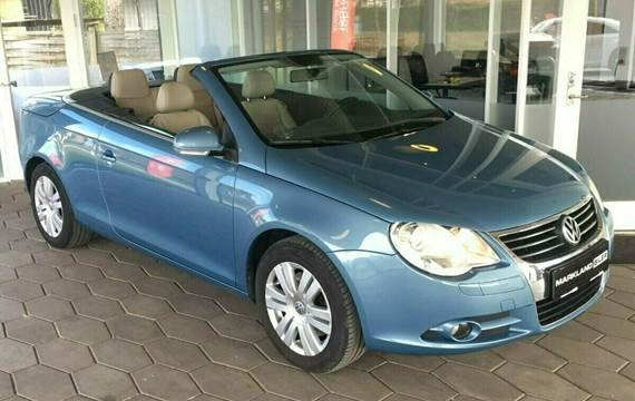 VW Eos TDi DSG 2,0