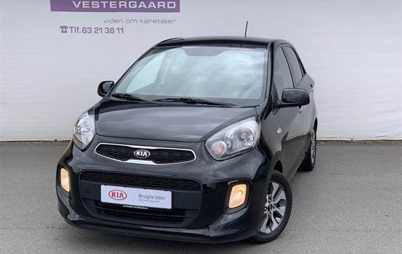 Kia Picanto MPI Attraction Plus  5d 1,0
