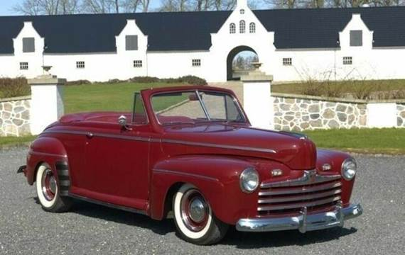 Ford V8 Super De Luxe Convertible aut.
