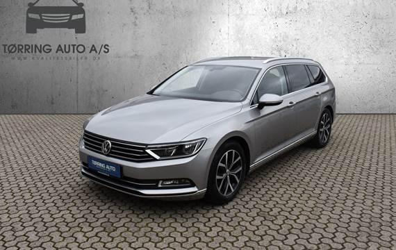 VW Passat TDi 150 High+ Vari. DSG 2,0