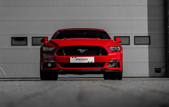 Ford Mustang V8 GT Convertible aut. 5,0