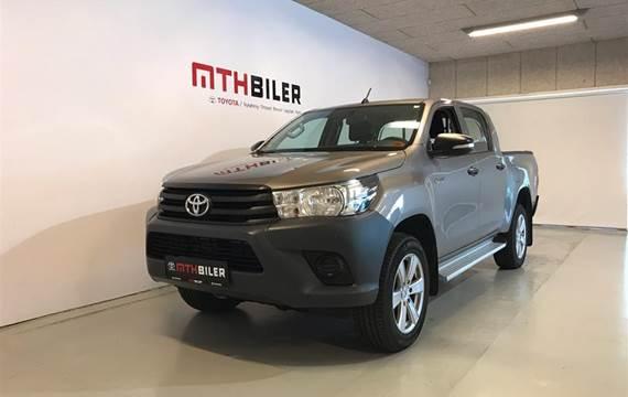 Toyota HiLux D-4D T2 4x4  DobKab 2,4