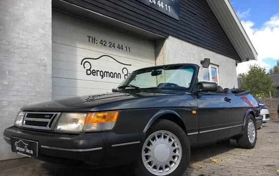 Saab 900 Turbo-16 Cabriolet aut. 2,0
