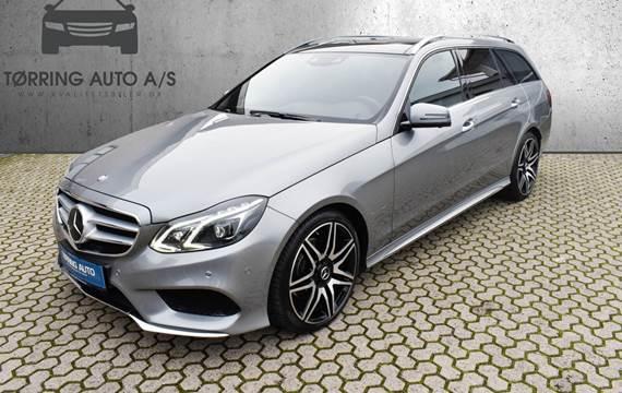 Mercedes E300 BlueTEC AMG Line stc. aut. 3,0
