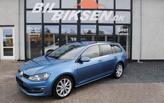 VW Golf VII TDi 150 Highl. Variant 4M BMT 2,0