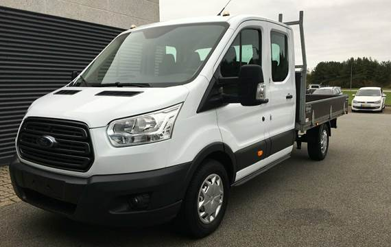 Ford Transit 350 L3 Chassis TDCi 130 Db.Cab Trend FWD 2,0