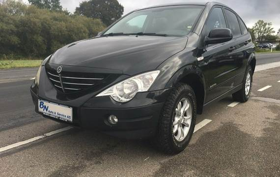 SsangYong Actyon Xdi Freedom 4WD Van 2,0