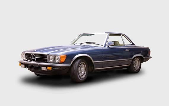 Mercedes 450 SL 4,5