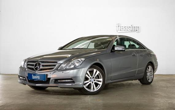 Mercedes E350 CDi Coupé aut. BE 3,0