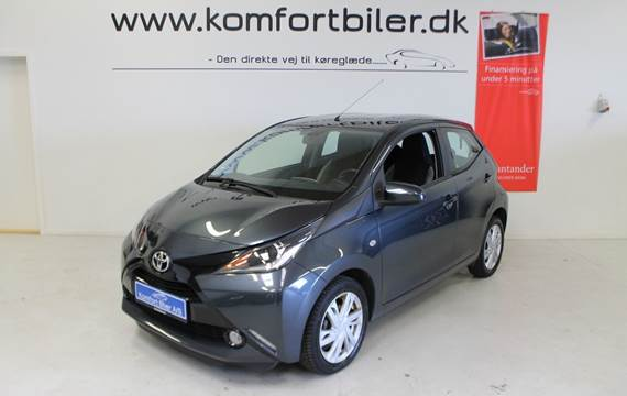 Toyota Aygo VVT-i x-press 1,0