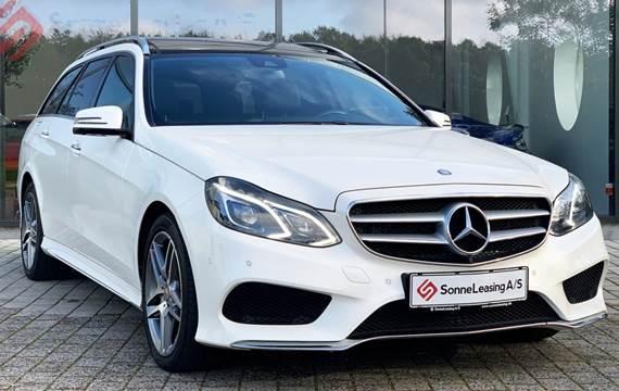 Mercedes E350 BlueTEC AMG Line stc. aut. 4-M 3,0