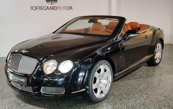 Bentley Continental GTC aut. 6,0