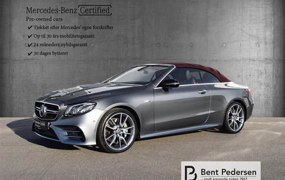 Mercedes - 53 AMG  4-Matic 9G-Tronic  Cabr. 9g Aut. 3,0