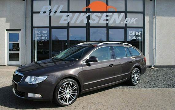 Skoda Superb TDi 170 Ambition Combi 2,0