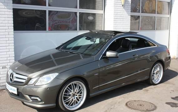 Mercedes E350 CDi Avantgarde Coupé aut. BE 3,0