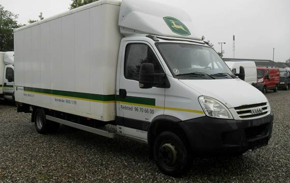 Iveco Daily 65C18 Alukasse m/lift 3,0