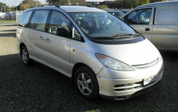 Toyota Previa D-4D Terra 8prs 2,0