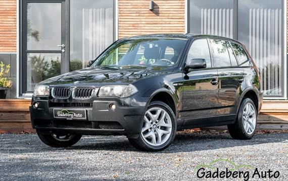 BMW X3 D Steptr. 3,0
