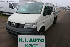 VW Transporter TDi 104 Mandskabsvogn m/lad 1,9