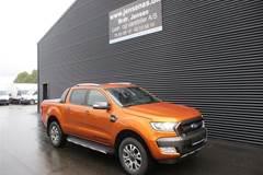 """Ford Ranger 3200kg  TDCi Wildtrak """"MANDSKABSBIL"""" 4x4  DobKab 3,2"""