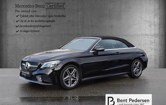 Mercedes C200 2,0 9G-Tronic  Cabr. 9g Aut.