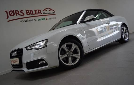 Audi A5 TFSi 170 Cabriolet Multitr. 1,8