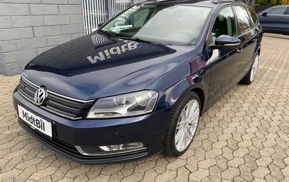 VW Passat 1,6 TDi 105 BlueMotion Variant