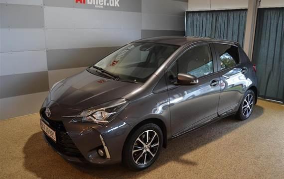 Toyota Yaris 1,5 B/EL H2 Premium Safety Sense E-CVT  5d Trinl. Gear
