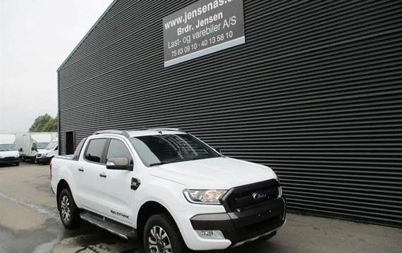 Ford Ranger 3200kg  TDCi Wildtrak 4x4  DobKab 6g Aut. 3,2
