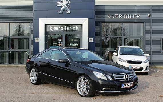 Mercedes E350 CDi Coupé aut. BE 3,0