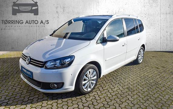 VW Touran TDi 140 Highline BMT 7prs 2,0